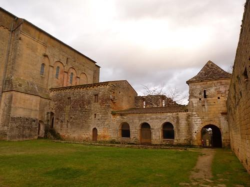 Abadía de Saint-Avit-Senieur (Périgord, Francia)