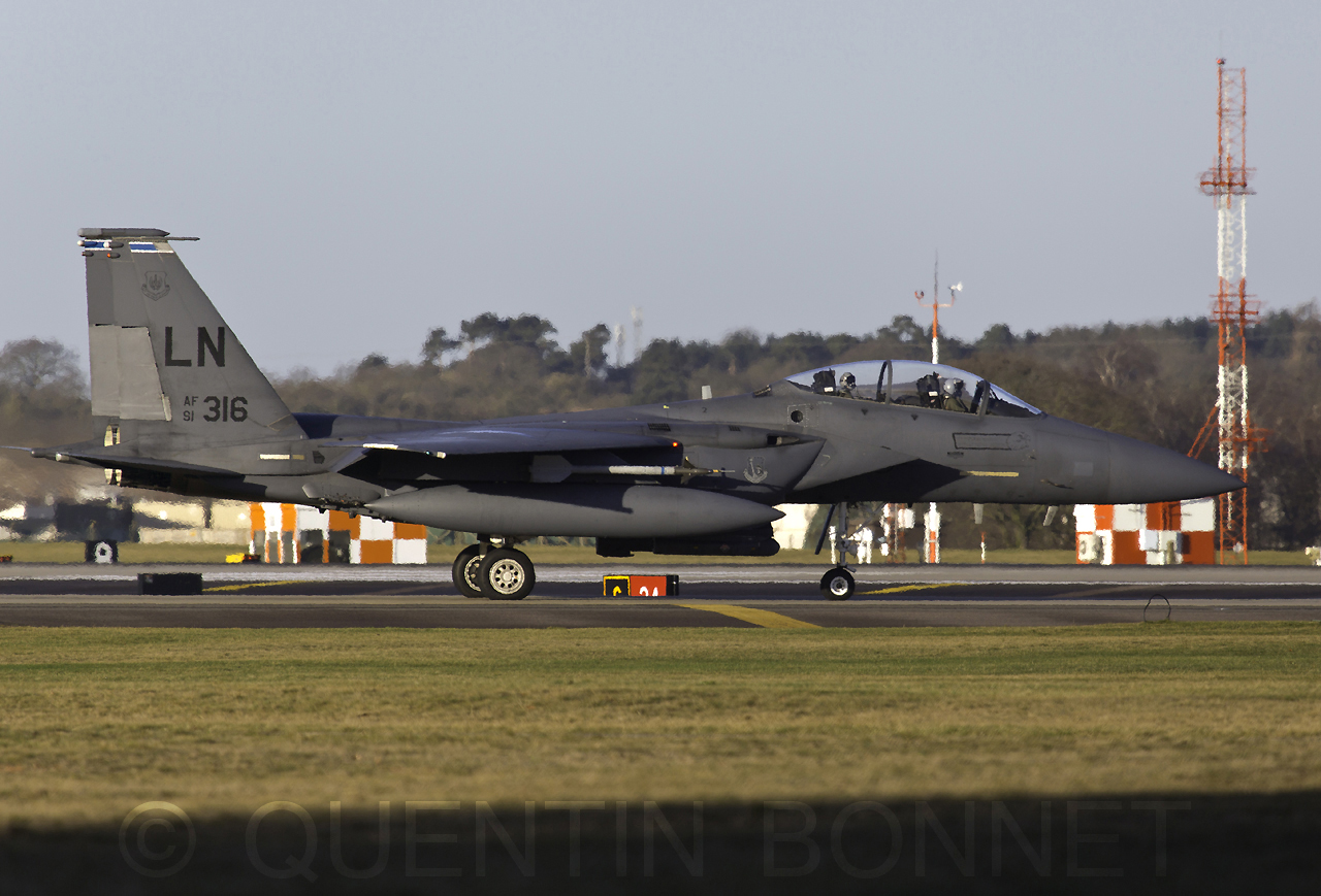USAF McDonnell Douglas F-15E LN 91-316