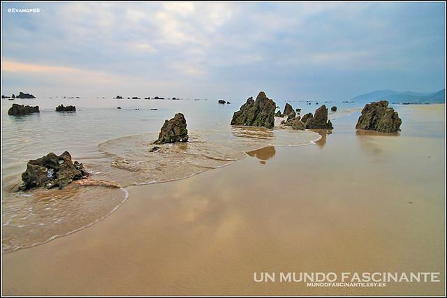 Playa Tregandin, Noja