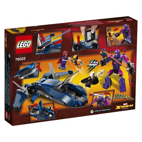 LEGO Marvel 76022 Back