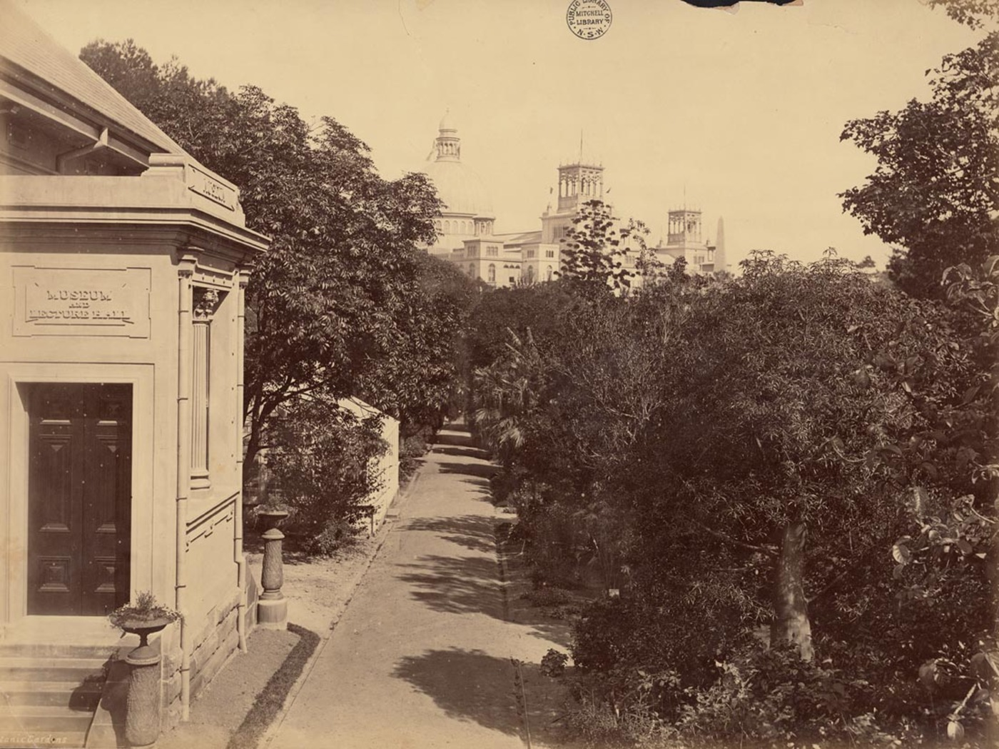 Botanic Gardens [Sydney / attributed to the New South Wales. Government Printing Office], 1879