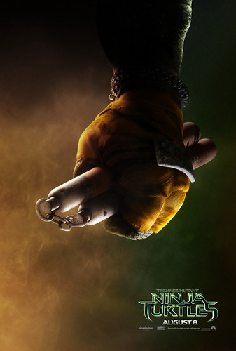 "PARAMOUNT :: ""TEENAGE MUTANT NINJA TURTLES"" ; 'MICHELANGELO' ..teaser poster  (( 2014 ))  [[ Courtesy of PARAMOUNT ]]"