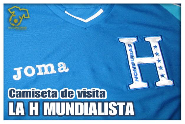 Camiseta Selección de Honduras 2014 Visita