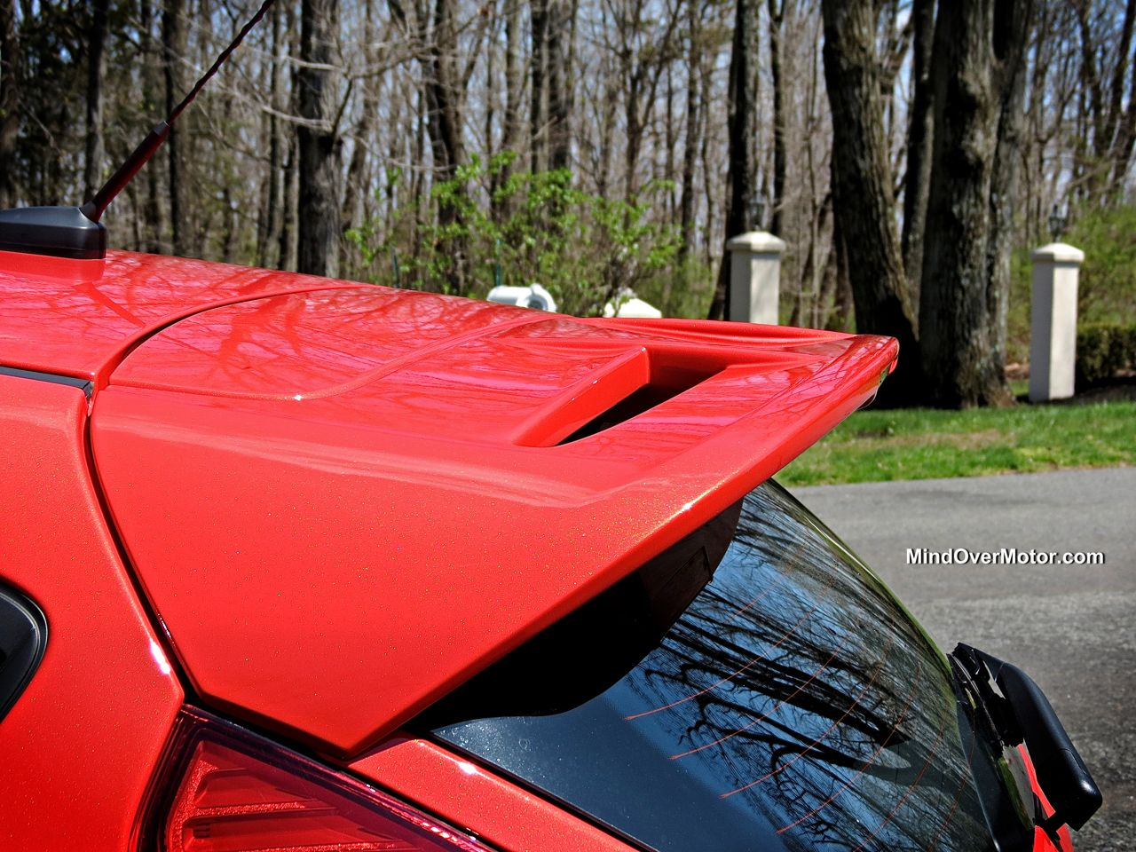 Ford Fiesta ST Rear Spoiler