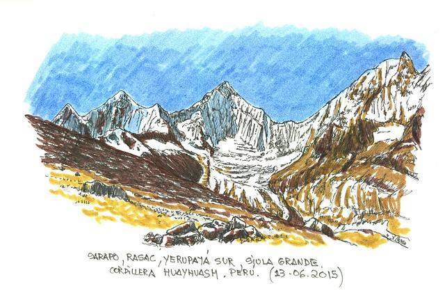 Perú. Cordillera Huayhuash