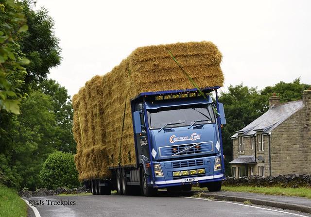 Volvo FH,Cameron Gill,Fodder Merchants Wheston.