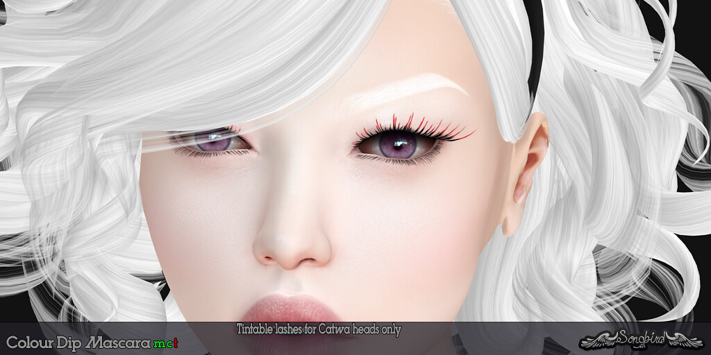~SongBird~ Colour Dip Mascara - SecondLifeHub.com