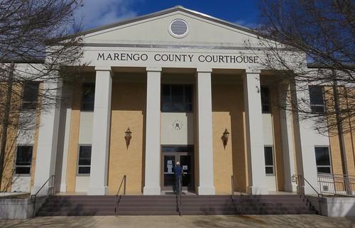 Marengo County Courthouse Detail (Linden, Alabama)