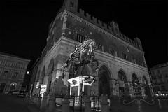 Piazza cavalli e palazzo Gotico