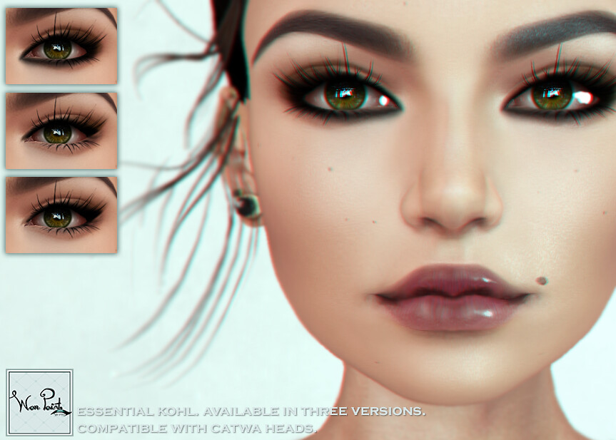 WarPaint* @ Anybody - Essential Kohl - SecondLifeHub.com