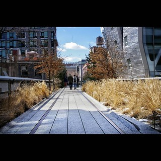 Image of The High Line. instagramapp square squareformat iphoneography uploaded:by=instagram