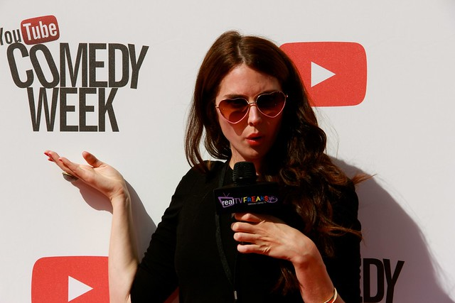 Traci Stumpf Impressed, YouTube Comedy Week, RealTVfreaks