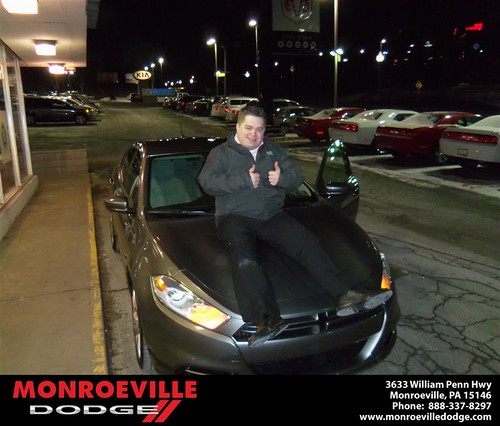 Monroeville Dodge would like to wish a Happy Birthday to Geoffrey Burke! by Monroeville Dodge