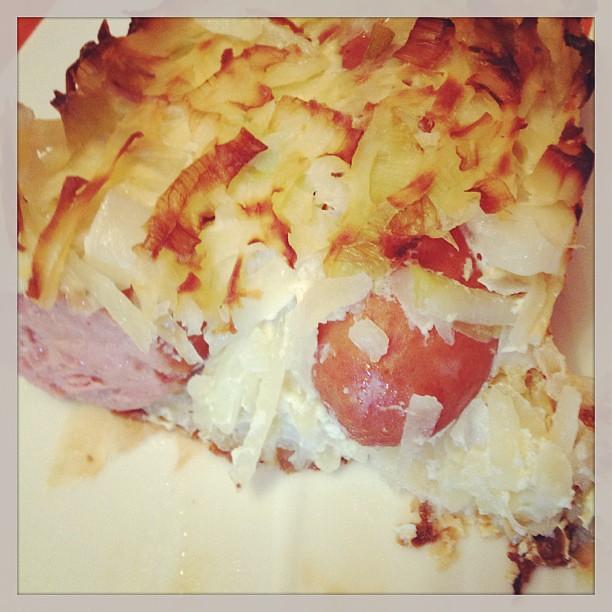 Cake Aux Poireaux Au Fromage Blanc
