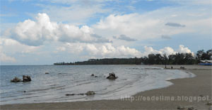 Pantai Pasir Padi @ Bangka [http://esdelima.blogspot.com]