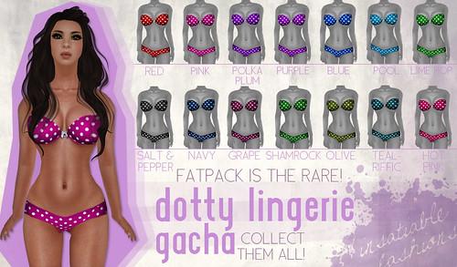 [IF] Dotty Lingerie Gacha!
