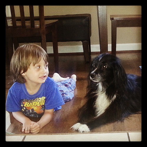A boy and his dog :)