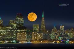 San Francisco Supermoon