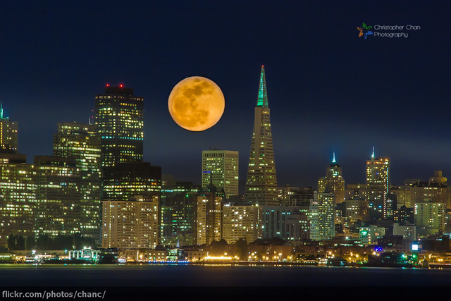 San Francisco Supermoon