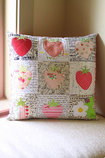 Being Sweet Keeps Me Out of Jams cushion