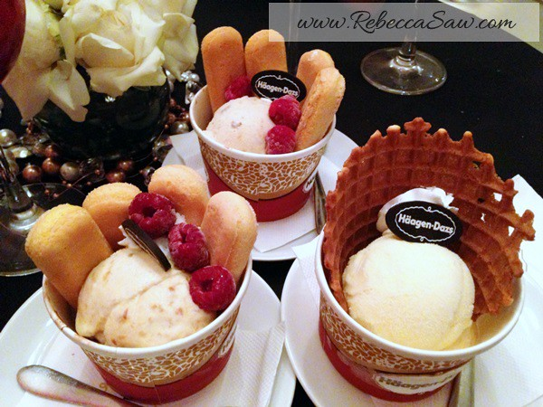 House of Häagen-Dazs, the new Secret Sensations