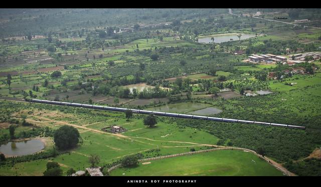 Bird Eye View#4 :Wainganga Express