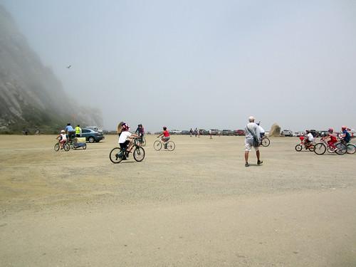 Bike Parade participants