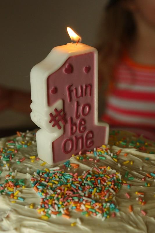 Elise first birthday