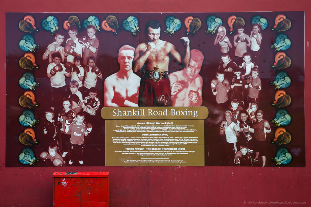 'Shankill Road Boxing' mural