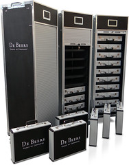 De Beers Diamonds Presentation Cases