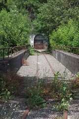 Gonzen Mining Train - Gallery Entrance