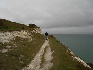 Balade le long des White Cliffs (Photo de Fred)