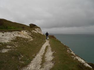 Balade le long des White Cliffs (Photo de Fred)