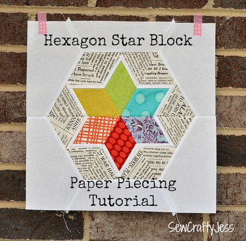 Hexagon star block
