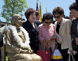 Unveiling of Comfort Women Memorial