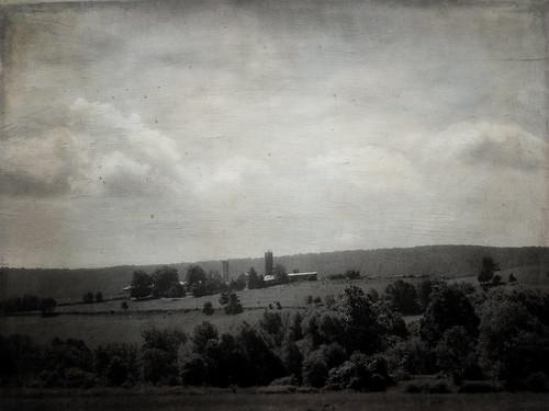 blackandwhite texture barn rural photoshop landscape kodak pennsylvania farm country distressedjewell
