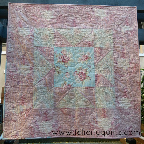 Vintage Star with quilting