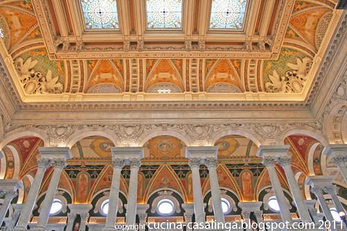 Kongressbiblio Decke