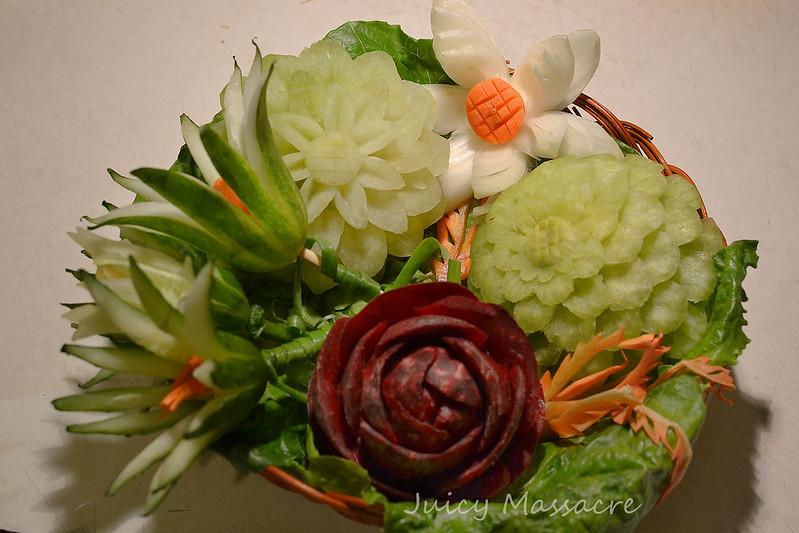 Свекла, редька, огурцы, лук, морковь