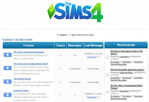 The Sims 4 Forums