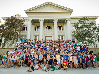 New and transfer students in the Class of 2017!