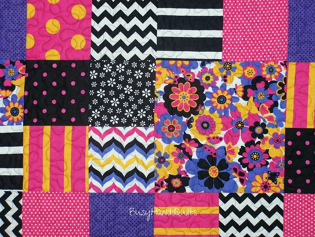 Let's Play Dolls Baby Quilt