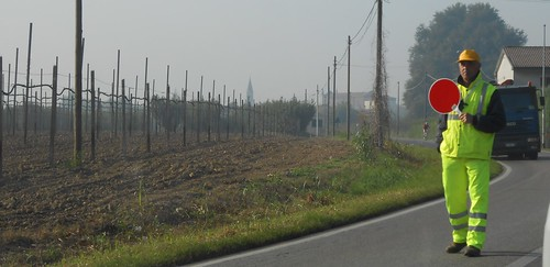 Roadworks near Verona