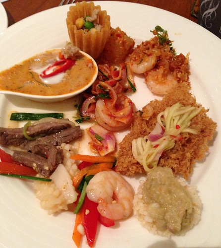 Thai Appetizers at Journey into Thailand - Olive Tree