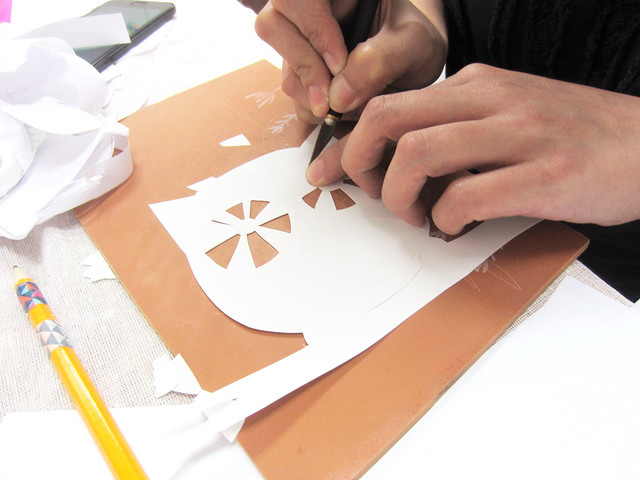 Hey Kessy Papercutting Workshop