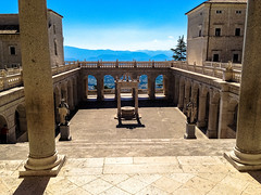 Cloister of Bramante, Abbey of Monte Cassino, Cassino