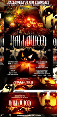 PSD Halloween Flyer Template + FB Cover