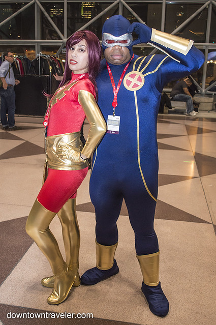 NY Comic Con Couples Costume Dark Phoenix Cyclops