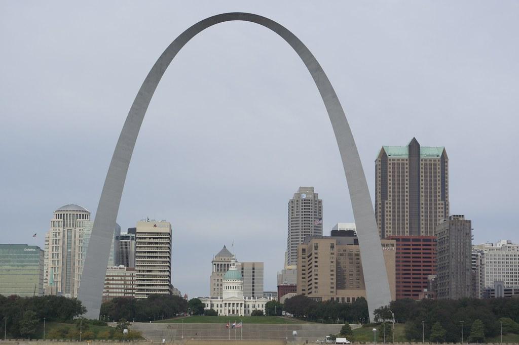 The Gateway Arch, St. Louis Missouri.