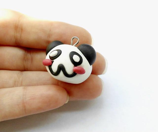Panda fimo tutorial 14